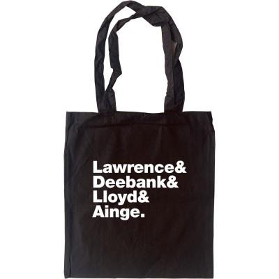 Felt Line-Up Tote Bag