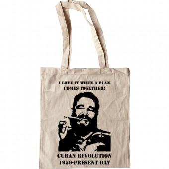 """Fidel Castro """"A-Team"""" Tote Bag"""