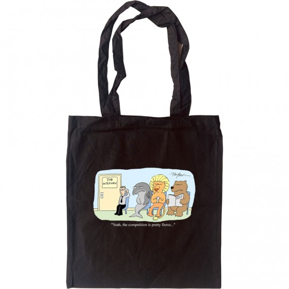 Fierce Competition Tote Bag