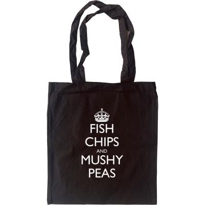 Fish, Chips and Mushy Peas Tote Bag