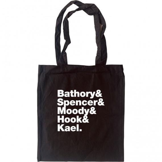 Five Finger Death Punch Line-Up Tote Bag