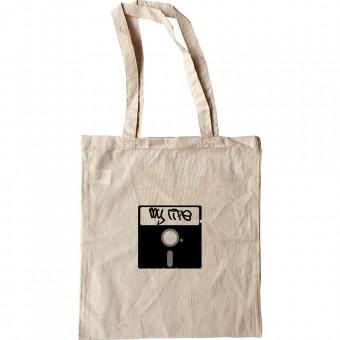 5 1/4 Inch Floppy Disk Tote Bag