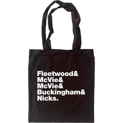 Fleetwood Mac Line-Up Tote Bag