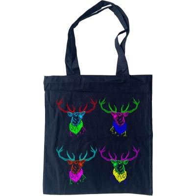 Four Deer Tote Bag