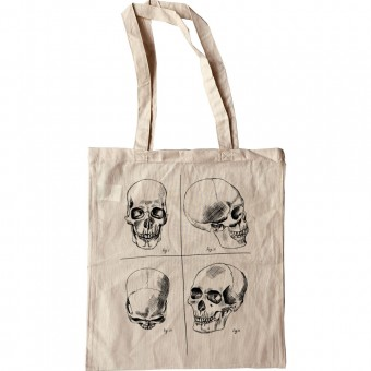 Four Studies of a Human Skull Tote Bag