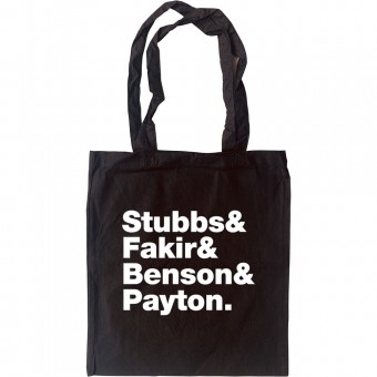 Four Tops Line-Up Tote Bag