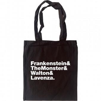 Frankenstein Line-Up Tote Bag