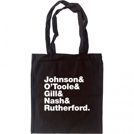 Frankie Goes To Hollywood Line-Up Tote Bag