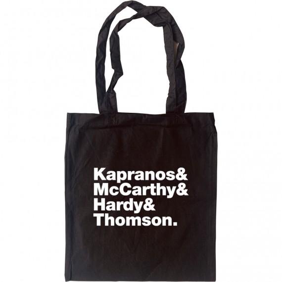 Franz Ferdinand Line-Up Tote Bag