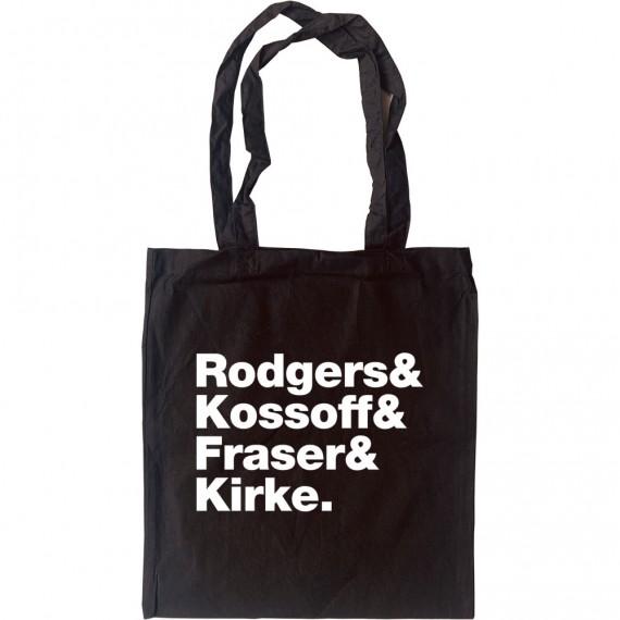 Free Line-Up Tote Bag