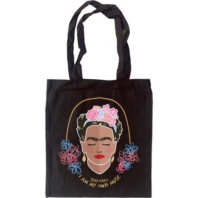 "Frida Kahlo ""I Am My Own Muse"" Tote Bag"