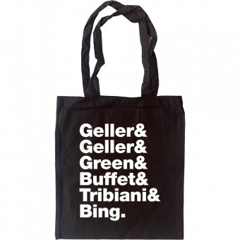 Friends Line-Up Tote Bag