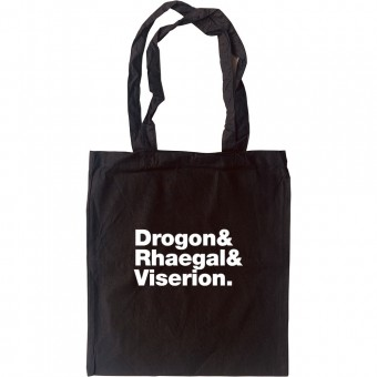 Dragon (Game of Thrones) line-up Tote Bag