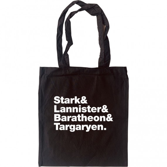 Game of Thrones Families Line-Up Tote Bag