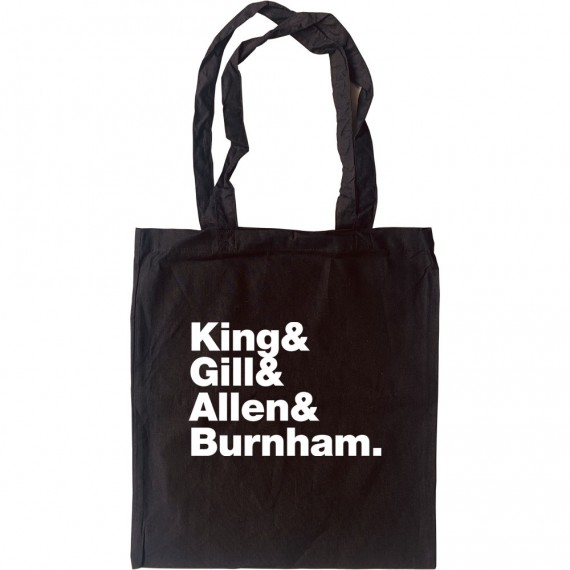 Gang Of Four Line-Up Tote Bag