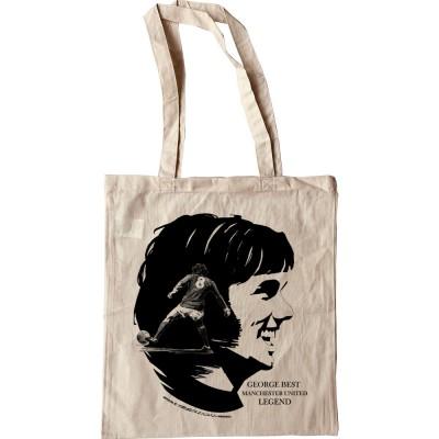 George Best: Manchester United Legend Tote Bag
