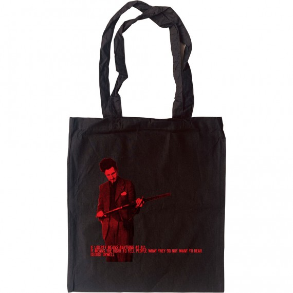 George Orwell Liberty Quote Tote Bag