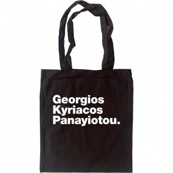 Georgios Kyriacos Panayiotou Tote Bag