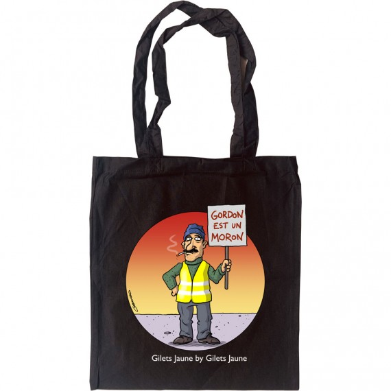 Gordon Est Un Moron Tote Bag