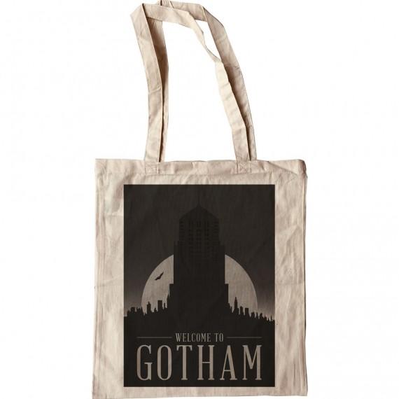 Gotham City Travel Poster Tote Bag