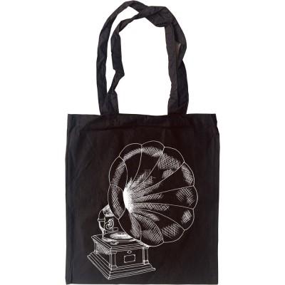Gramophone Tote Bag