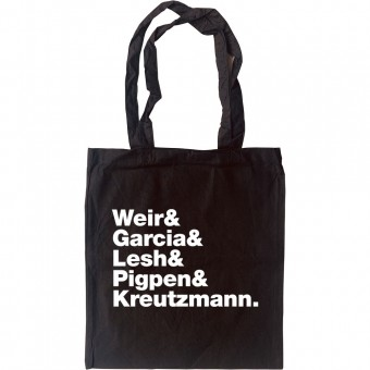 Grateful Dead Line-Up Tote Bag