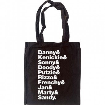 Grease Line-Up Tote Bag
