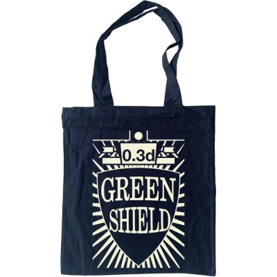 Green Shield Stamp Tote Bag