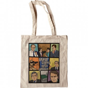 Grand Theft New Labour Tote Bag