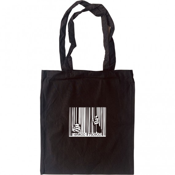 Guantanamo Bay Barcode Tote Bag