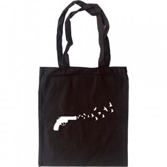 Gun Doves Tote Bag