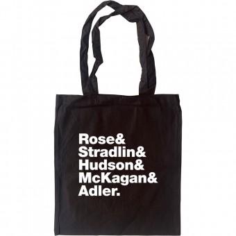Guns N' Roses Line-Up Tote Bag