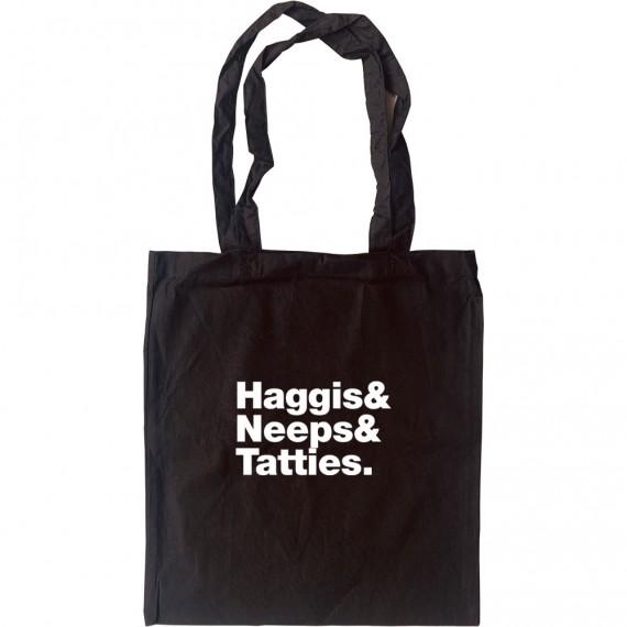 Haggis & Neeps & Tatties Tote Bag