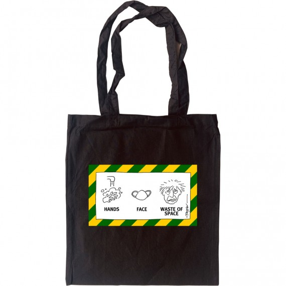 Hands; Face; Waste Of Space Tote Bag