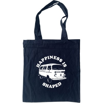 Happiness Is Camper Shaped Tote Bag