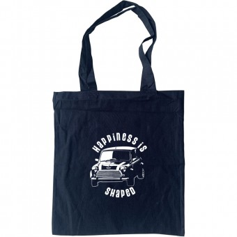 Happiness Is Mini Shaped Tote Bag