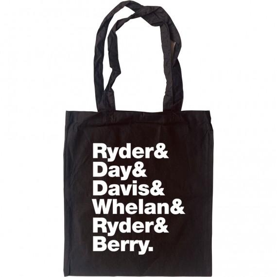 Happy Mondays Line-Up Tote Bag