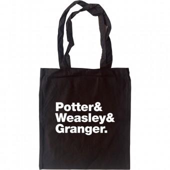 Harry Potter Line-Up Tote Bag