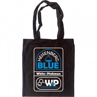 Heisenberg Blue Tote Bag