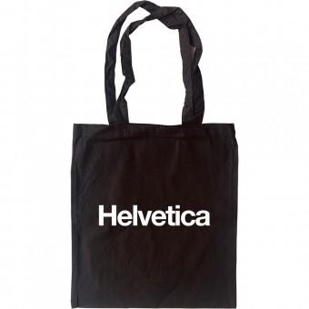 Helvetica Tote Bag