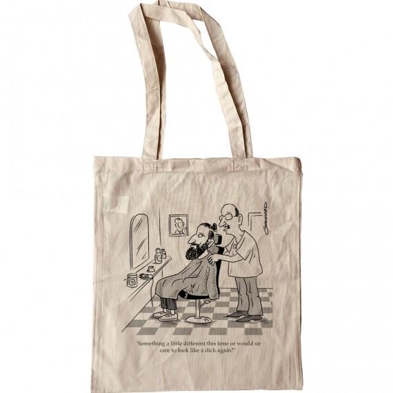 Hipster Barber Tote Bag