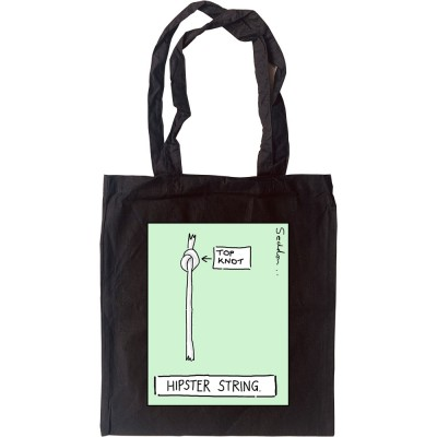 Hipster String Tote Bag