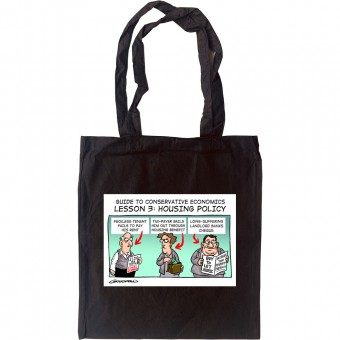 Guide To Conservative Economics: Housing Policy Tote Bag