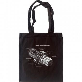 Hubble Telescope Diagram Tote Bag