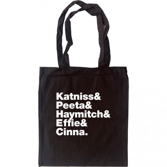74th Annual Hunger Games District 12 Line-Up Tote Bag