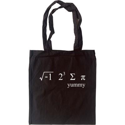 i 8 sum pi Tote Bag