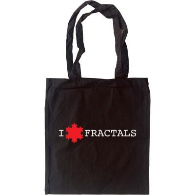 I Love Fractals Tote Bag