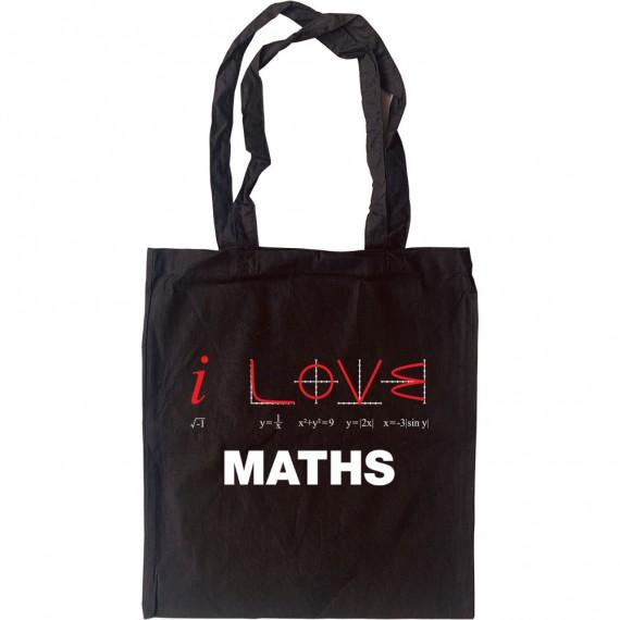 I Love Maths Tote Bag