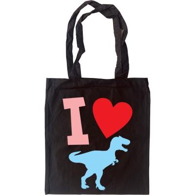 I Love T-Rex Tote Bag
