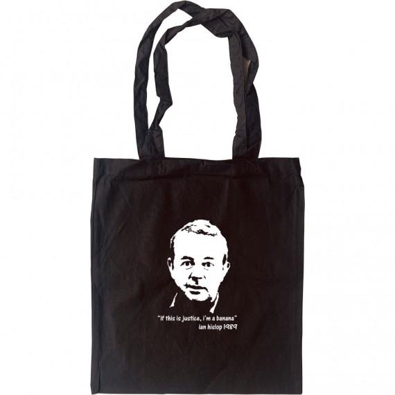 Ian Hislop Tote Bag
